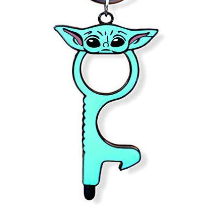 Baby Yoda Touchless Door Opener With Stylus