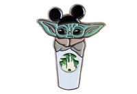 The Child Castle Coffee Cup Pin