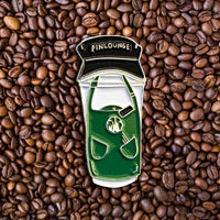 Barista Castle Cup Pin
