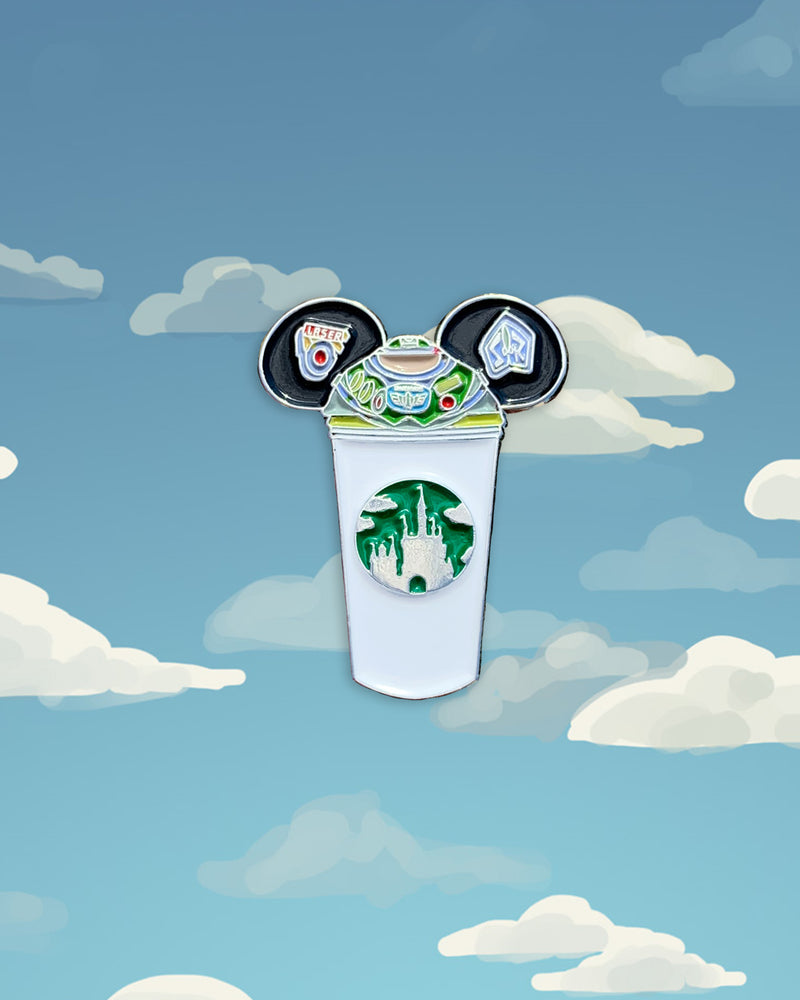 Buzz Castle Cup Pin