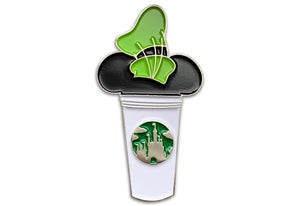 Goofy Castle Cup Pin