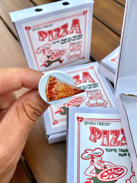 (Pre order )Real Slice of Pizza Pin (Magnetic) LIMITED