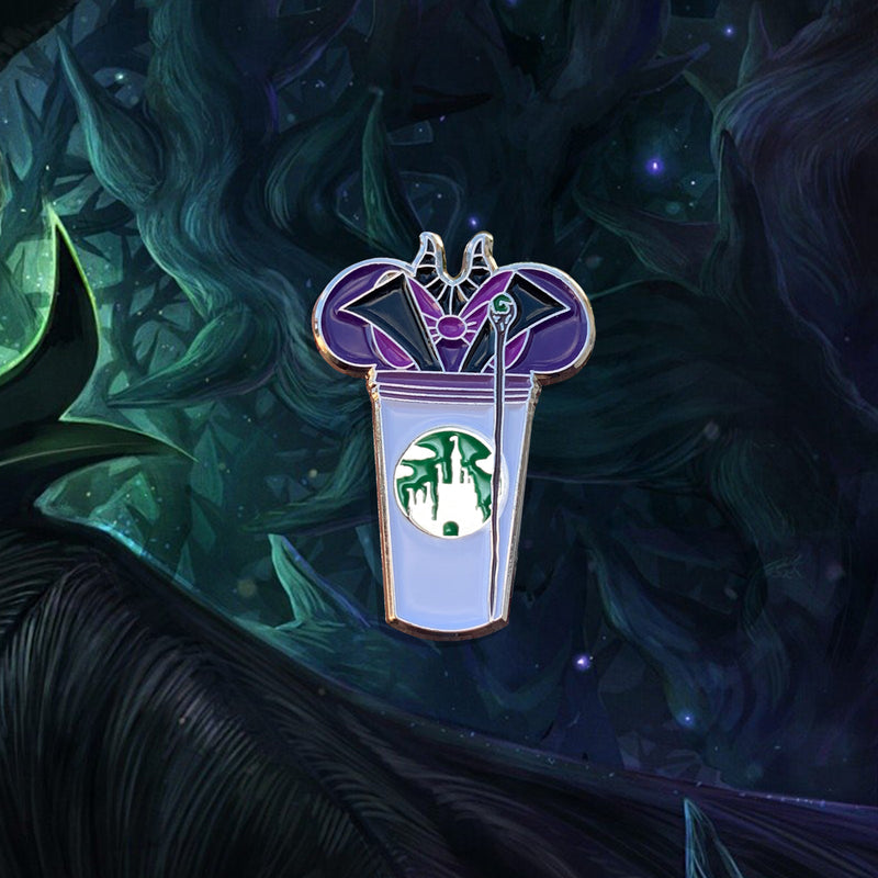 Maleficent Castle Cup Pin