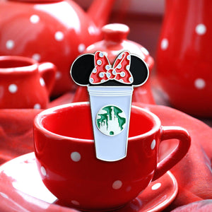 Minnie Castle Cup Pin