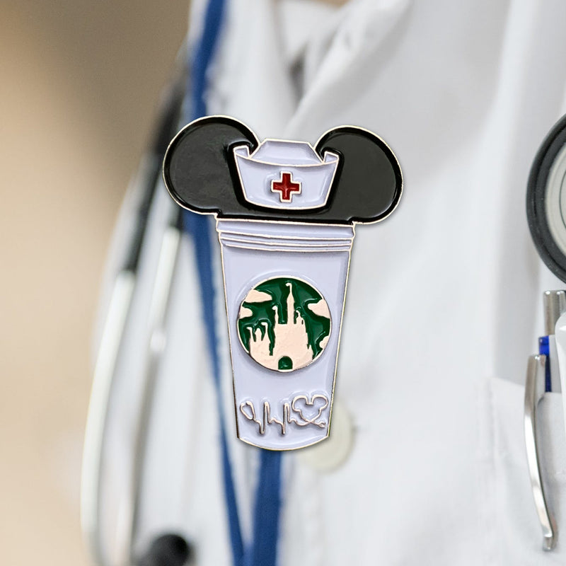 Nurse Castle Cup Pin
