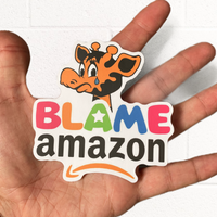 Blame Amazon Sticker