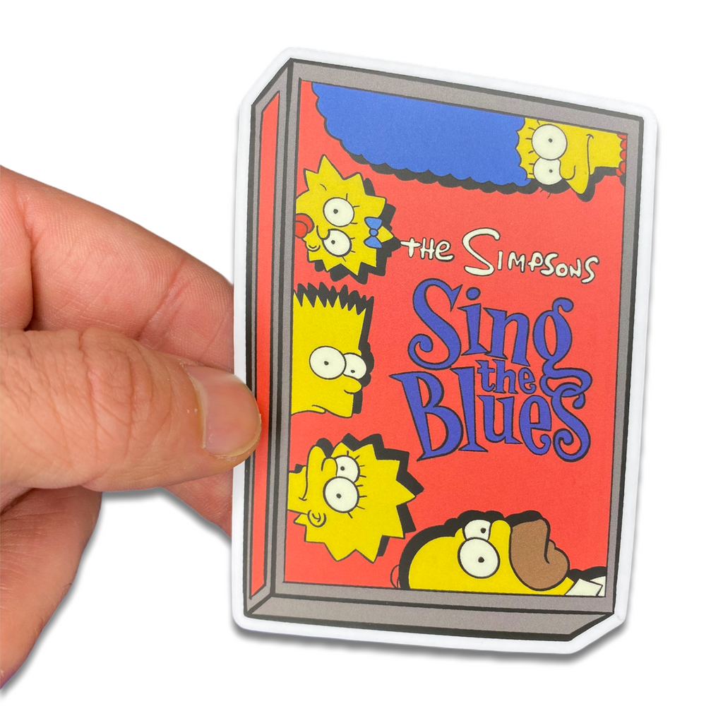 Simpsons Sing the Blues Sticker