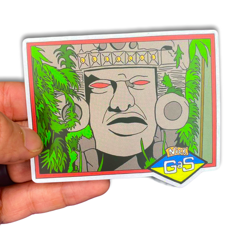 Legends of the Hidden Temple Olmec Sticker