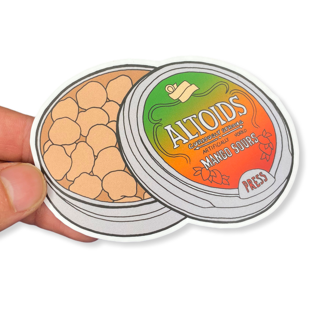 Mango Sours Candy Sticker