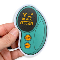 Yak Bak Sticker