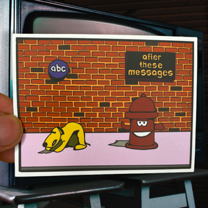 After These Messages Sticker