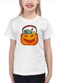 Halloween Candy Kids T Shirt