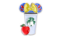 Snow White Castle Cup Pin