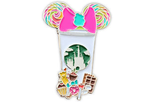 Candy Castle Cup Pin