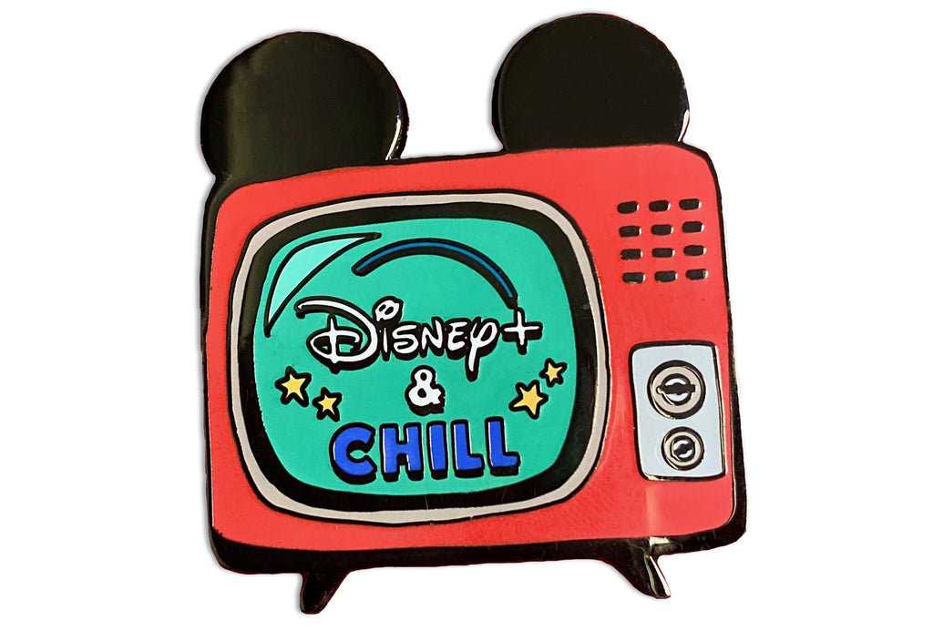 D+ and Chill Enamel Pin