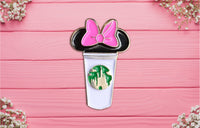 Daisy Duck Castle Cup Pin