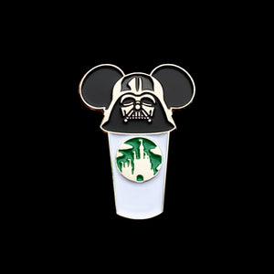 Darth Vader Castle Cup Pin