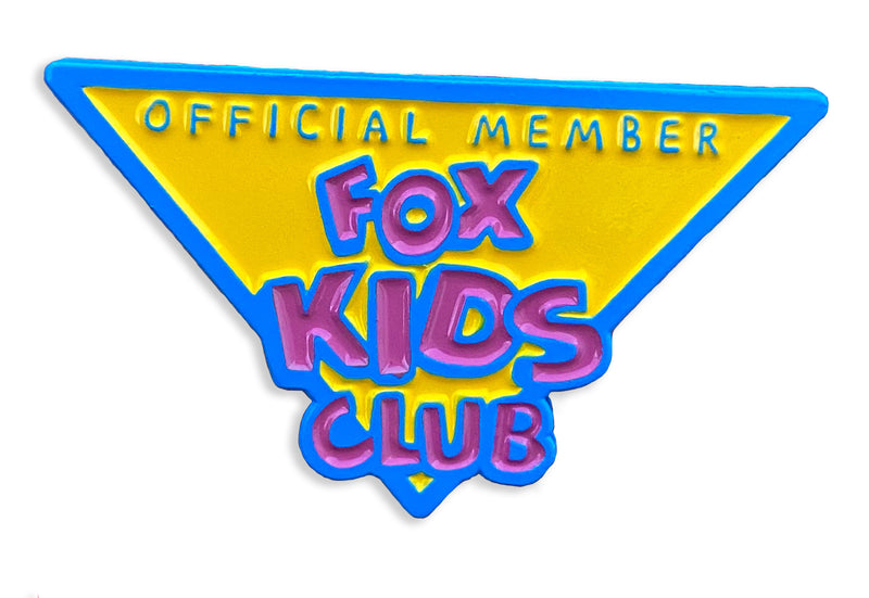 Fox Kids Club Pin