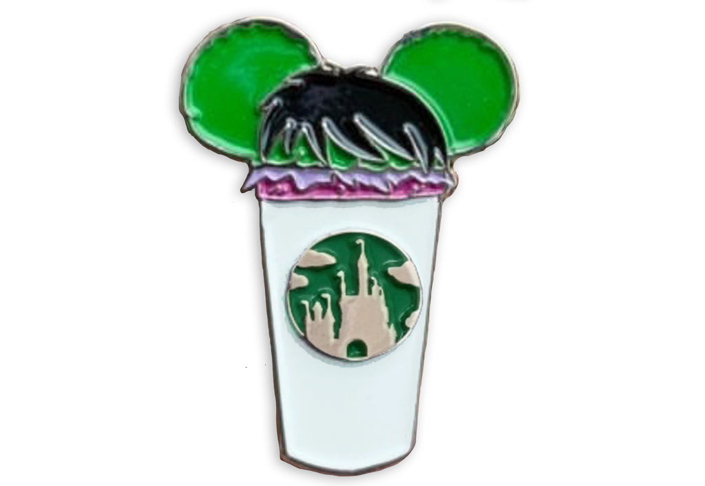 Hulk Castle Coffee Cup Pin