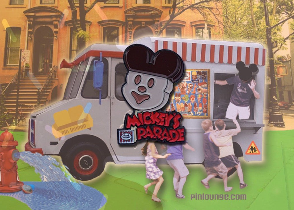 Mickey's Parade Ice Cream Pin,