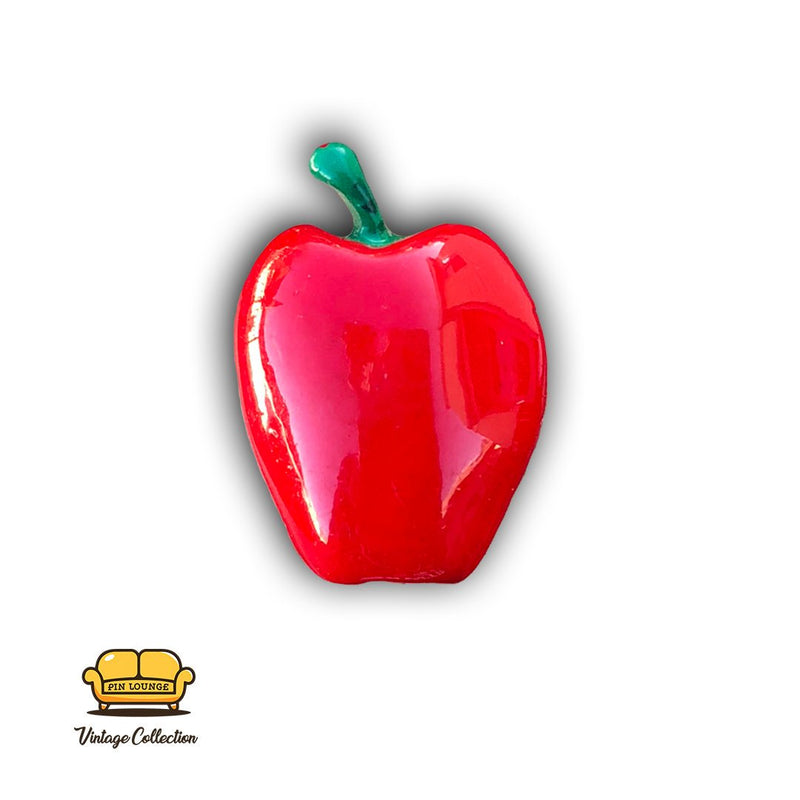 Apple Enamel Pin,  Teach pins, apple a day pin, fruit pins, food pins, Apple enamel pins
