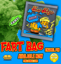 Fart Bag Pin