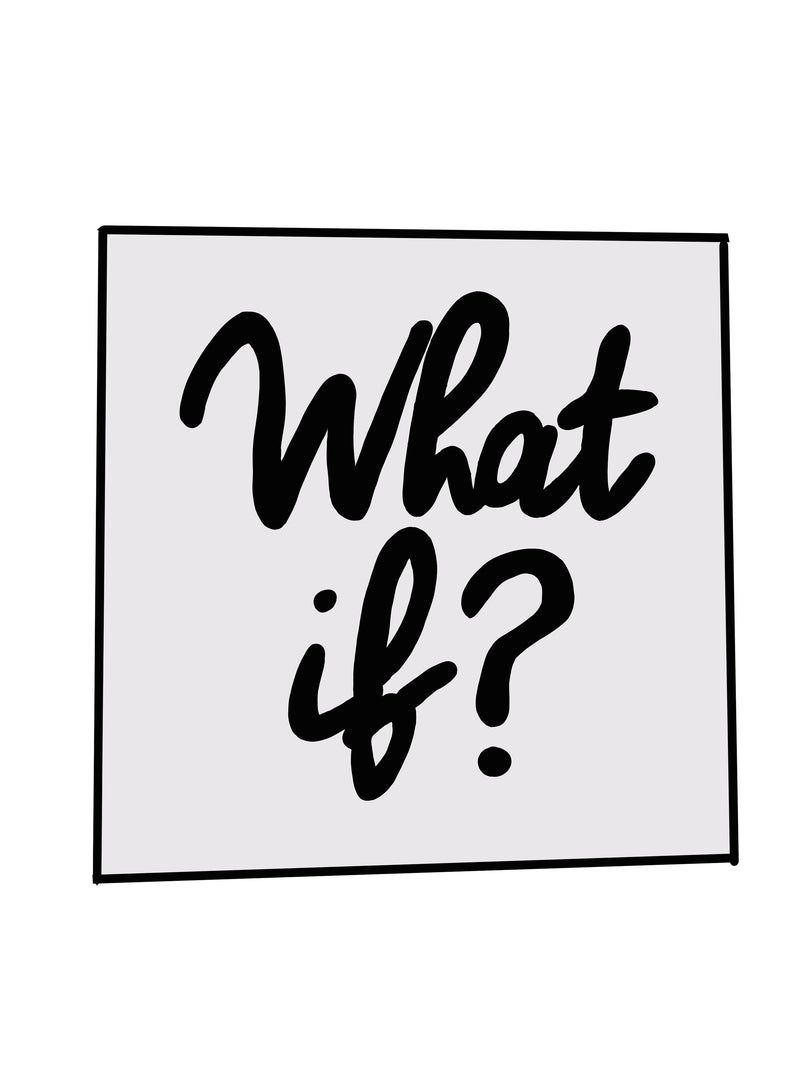 What if? ...Enamel Pin