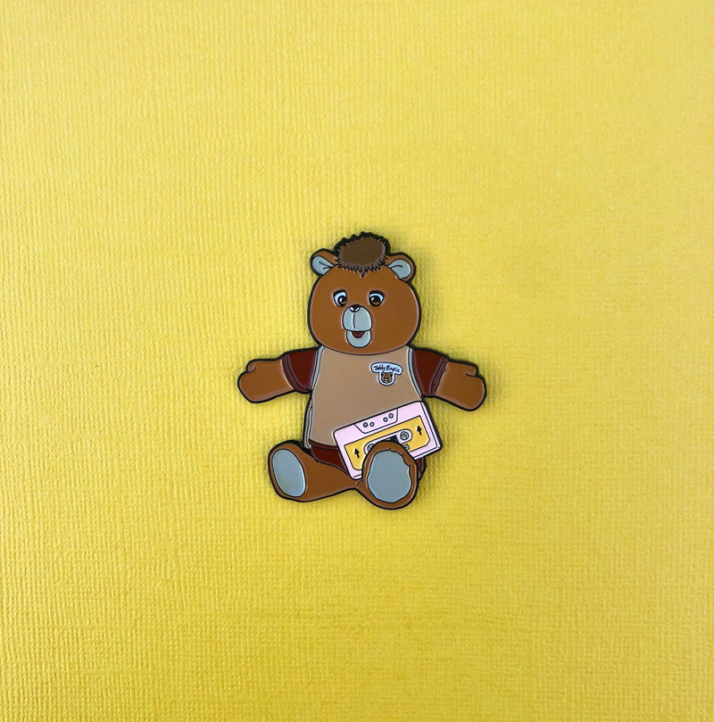 Teddy Ruxpin Pin
