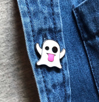 Ghost Emoji Pin