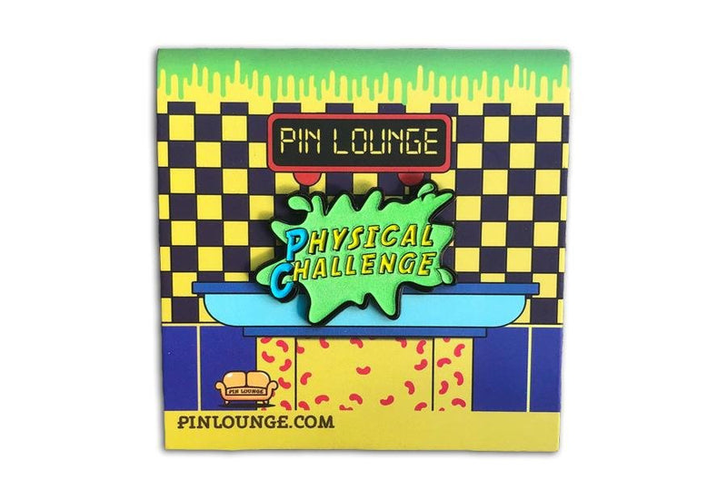 Double Dare Physical Challenge Pin (Glow in the Dark)