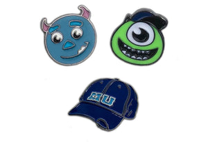 Monsters Inc Pins