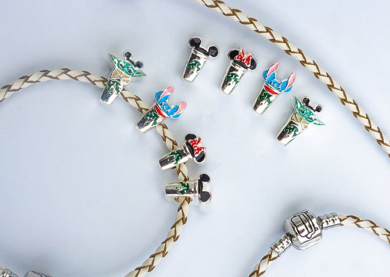 Castle Coffee Cup Charms and FREE Bracelet