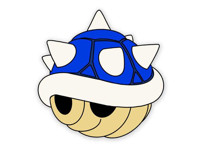 Blue Shell Enamel Pin ( Pre Order - Ships Nov 15th ) | Throwback pins | Nostalgia pins | pins | Super Mario Pins | 90s Pin | Video Game