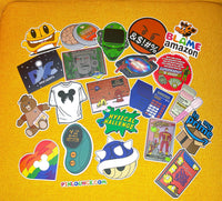Pop Culture Stickers ( Various ) | Nostalgia Laptop stickers | pop culture decals | Decal | Dye cut sticker | Vinyl Sticker | Throwback