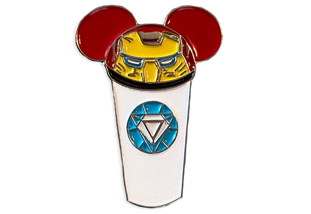 Iron Man Castle Cup Pin