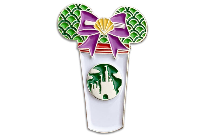 Little Mermaid Castle Cup Pin
