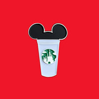Mickey Castle Cup Pin
