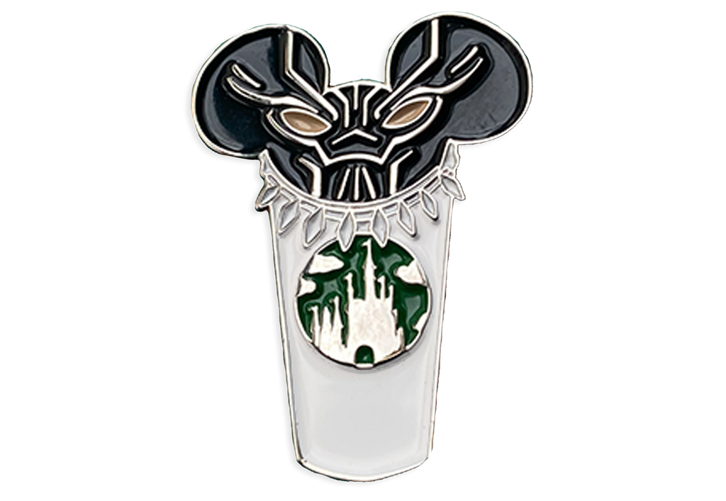Black Panther Castle Cup Pin