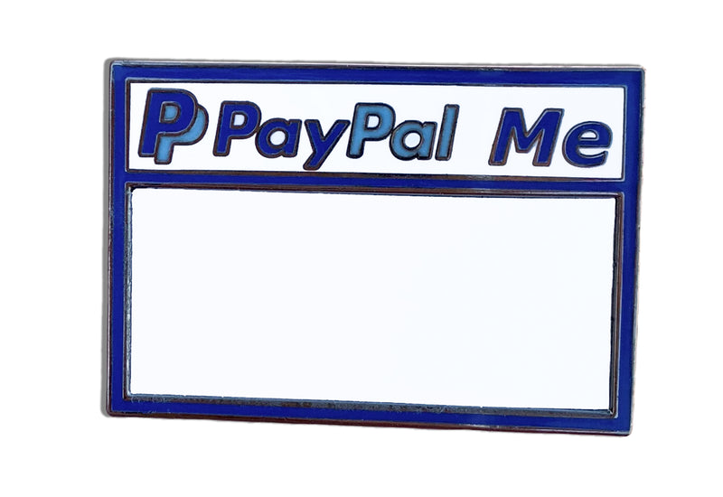 Paypal Me Pin ( With Dry Erase Board )