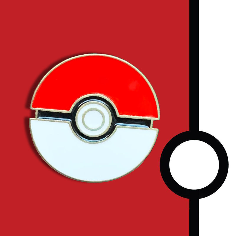 Pokeball Pin