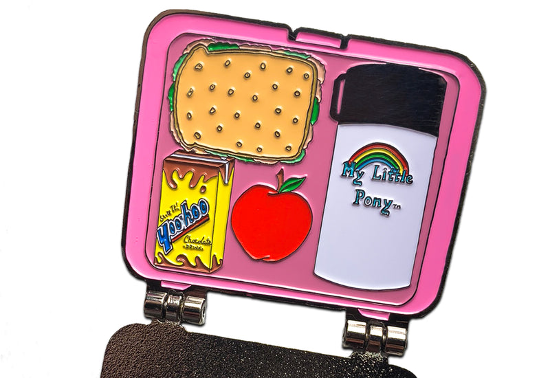 Pony Lunchbox Pin (2 Pins in 1)