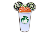 Pumpkin Castle Cup Pin