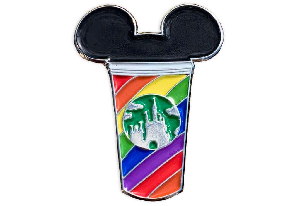 Rainbow Castle Cup Pin