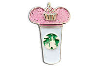Birthday Castle Cup Pin