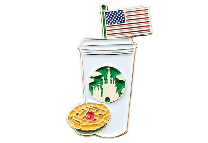 American Castle Cup Pin