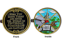 Theme Park Spinner Pin ( 2 Pins in 1 )