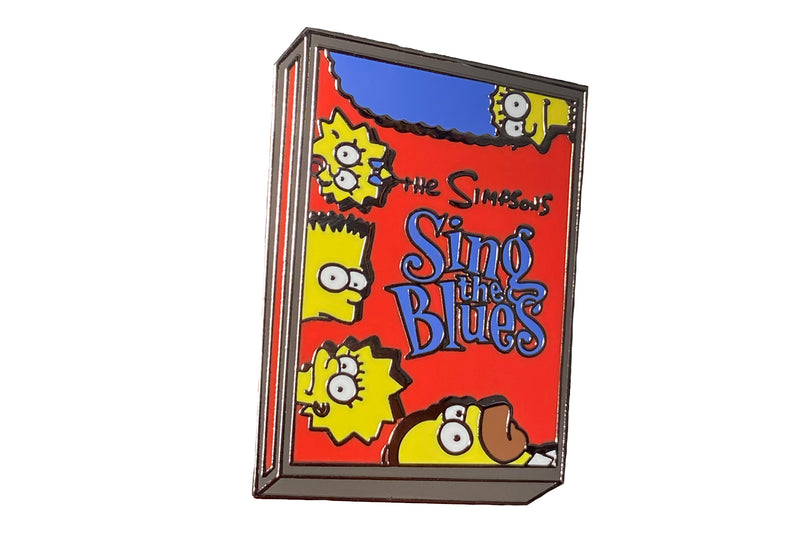 Simpsons Sing the Blues Cassette Pin