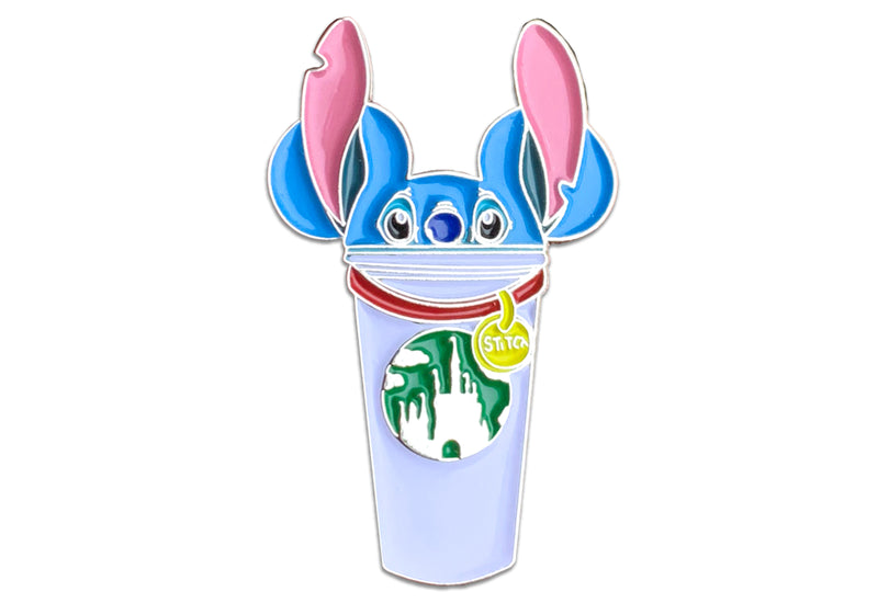 Stitch Castle Cup Pin ( Pre Order Ships July 1st )