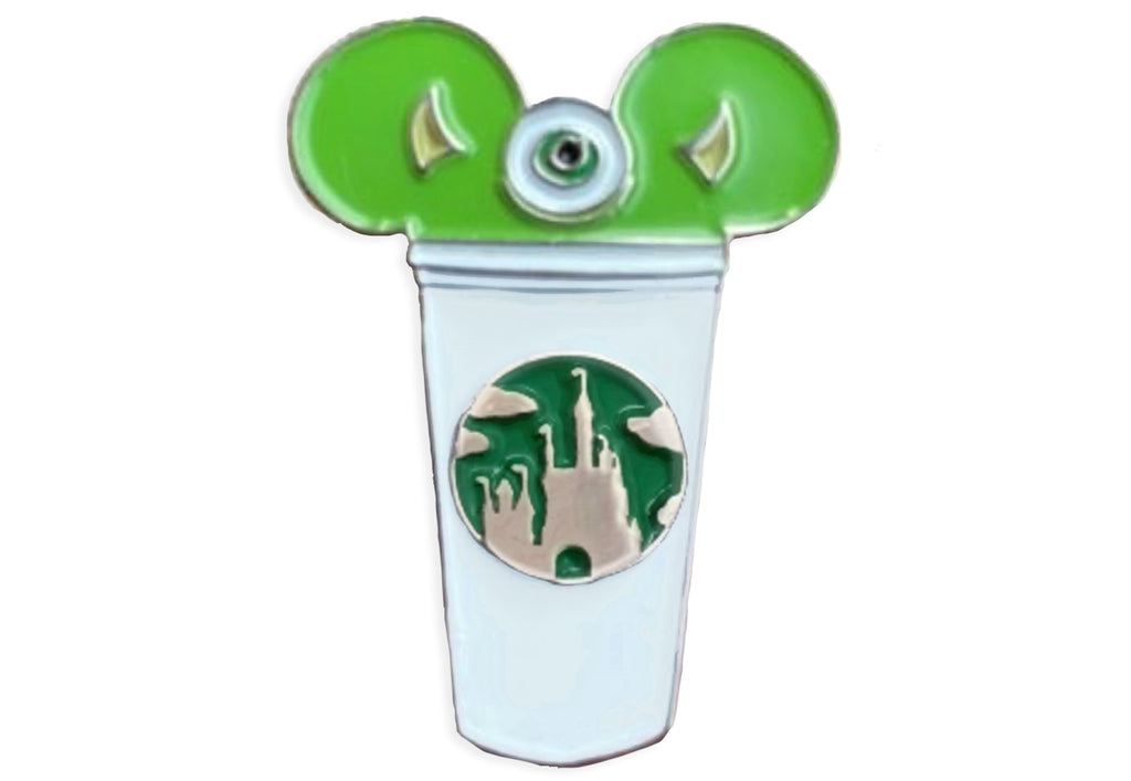 Mike Wazowski Castle Cup Pin