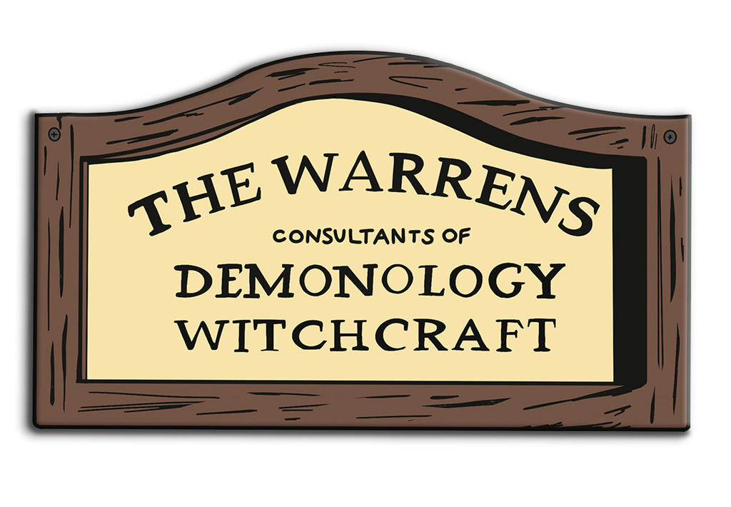 The Warrens Sign Pin